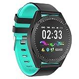 CAOQAO - Moda Reloj Inteligente Moderno Android iOS Deportes Fitness Calorías Muñequeras Reloj Inteligente #2