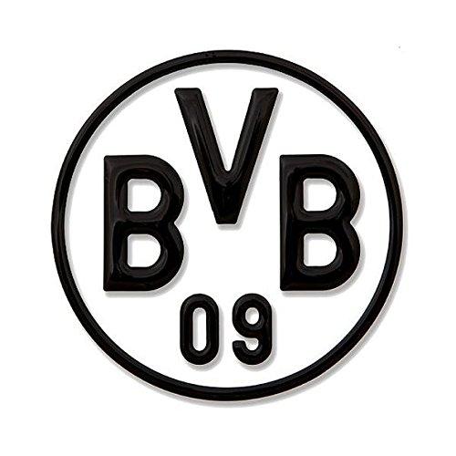 Borussia Dortmund BVB 15131000 Hissfahne 150x100cm mit Logo Schwarz//gelb 150 x 100 x 1 cm