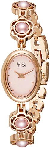 Titan Raga Aurora Analog Pink Dial Women's Watch-2511WM07
