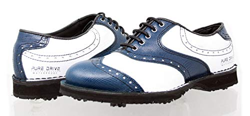PORTMANN, Scarpe da Golf Uomo, (Old Blue Pyton White Tumbled), 40 EU