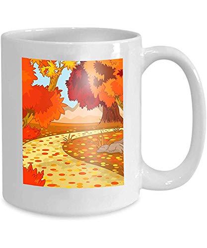Qinzuisp tazza di caffè tazza di tè modello conigli di pasqua decorato uova simboli happy 110z