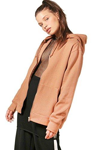 bronzer Femmes maya hoodie zippé bronzer