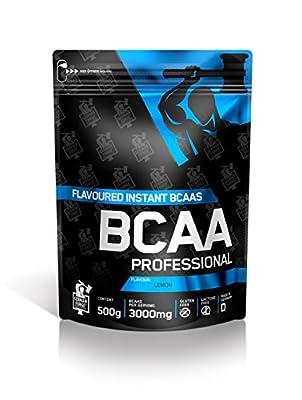 Ironmaxx Unisex Bcaa Professional Lemon Powder, Multicoloured, 500 g by IronMaxx