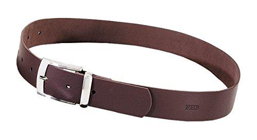 """Preisvergleich Produktbild FHB Ledergürtel """"Burkhard"""" Länge 125,  1 Stück,  braun,  85002-17-125"""