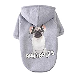 sunnymi Fashion Cute Little Pet Dog Clothing Lovely Small Pet Dog Cat Winter Warm Sweater Puppy Coat Jacket Clothes Costume Apparel For Walking Jogging S M L XL