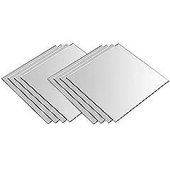Idea Regalo - Specchio Quadrato 20.5 x 20.5 cm Mosaico di piastrelle Set da 8 pezzi