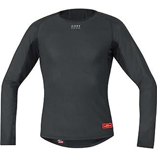 Gore Bike Wear Base Layer Windstopper Termo - Camiseta de ciclismo para hombre, color negro, talla M (B0052KF7P6) | Amazon Products