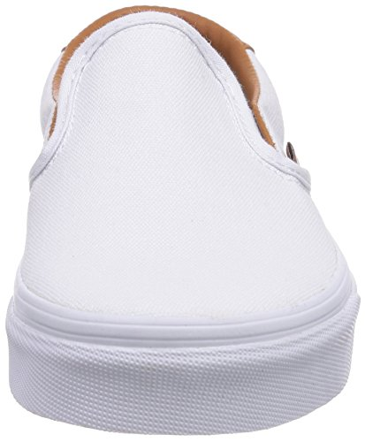 Vans SLIP-ON 59 Low-Top Sneaker, Unisex Adulto Bianco (Washed C L) tr FQ8)