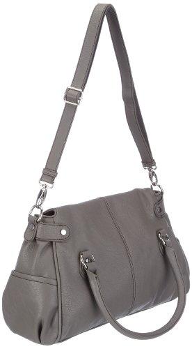 Mexx Soft Zippers 3FRE2173, Damen Shopper 42x23,5x15 cm (B x H x T) Braun (SLATE 205)