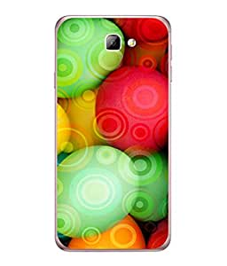 PrintVisa Designer Back Case Cover for Samsung On5 (2016) (Life is Colourful Add Colours)