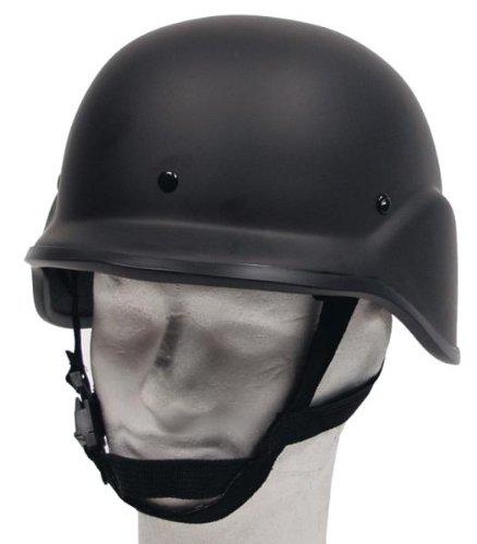 """US Helm """"MICH"""", schwarz, Kunststoff"""