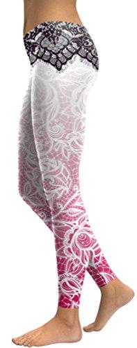 Belsen Damen Leggings mehrfarbig Gem mermaid Leggings Medium Schöne Blume