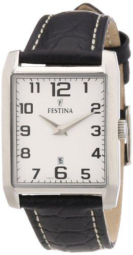 Festina Women's Quartz Watch F16515/1 with Leather Strap