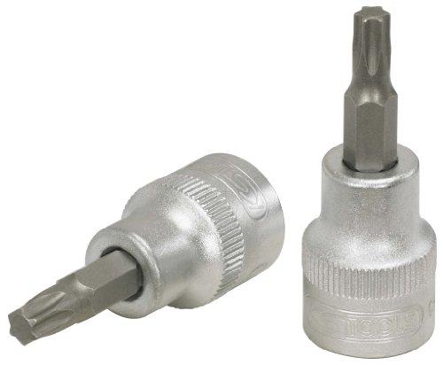 "KS Tools 911.3874-E 3/8"" Bit-Stecknuss Torx, T40, auf Hänger Zoll"