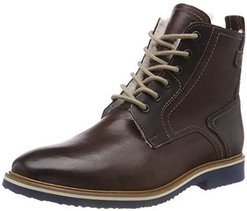 LLOYD Herren FEDAN Combat Boots, Braun (Ebony/T.D.Moro 1), 48 EU