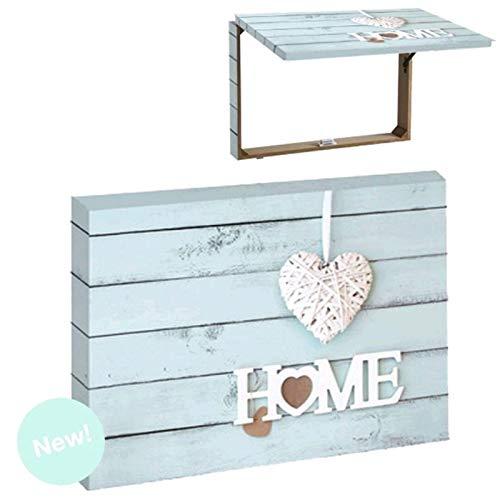 Item Tapa para Contador de luz Color Azul diseño Home con corazón...
