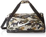Nike Unisex– Erwachsene NK BRSLA M DUFF-AOP Klassische Sporttaschen, neutral Olive/Black/White, One Size