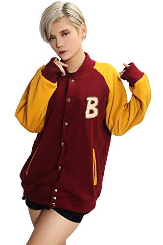 uze pullover Jacke Cosplay Kostüm Taste Cardigan Hoodie Baumwolle Mantel Top Kleidung für Halloween (Gelbe Jacke Halloween-kostüm)
