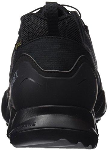 adidas Terrex Swift R Gtx, Scarpe da Escursionismo Uomo Nero (Negbass/Griosc)