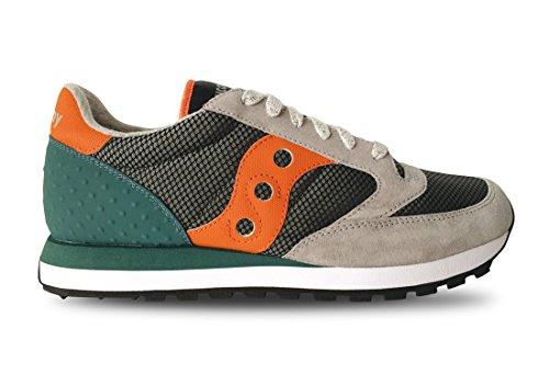 Saucony 70331/01 Sneakers Uomo GRIGIO-ARANCIO