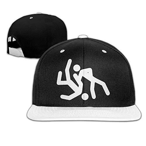 Xukmefat JIU Jitsu Hiphop Flat Brim napback Adjustable Baseball C313 Flat Brim Fitted Wool Cap