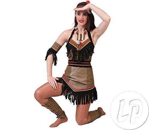 Hallo Kostüm Mädchen Kitty - Indianerin Kaya Kostüm Damen Gr. 34 36