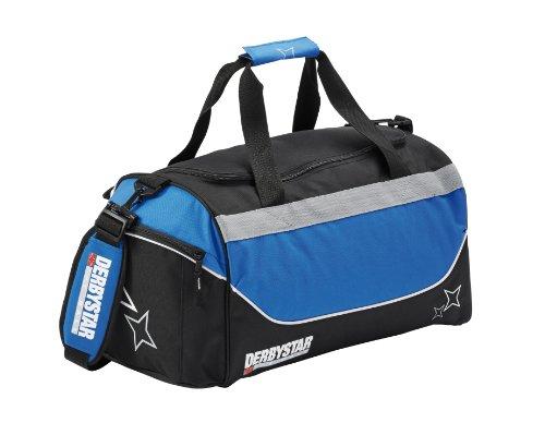 Derbystar Team - Borsa sportiva, 38 L, Nero (nero/grigio), 38 litri Nero - nero/blu