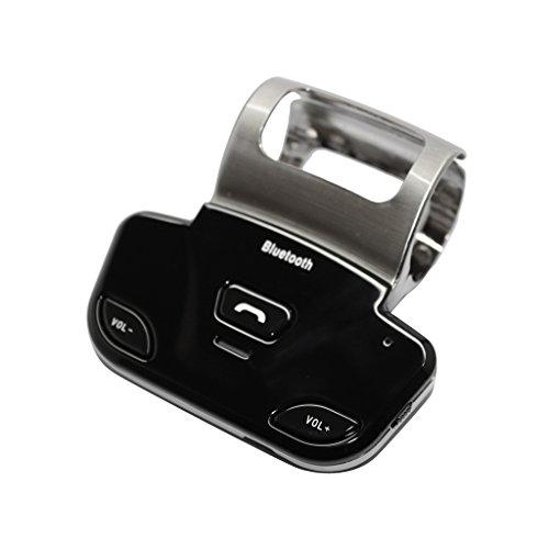 Bluetooth Inalámbrico Manos Libres Kit LD318 Montaje en Volante del Coche