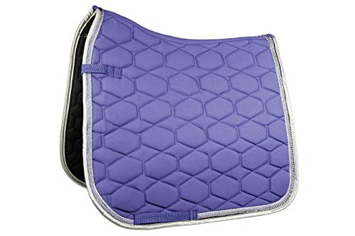 HKM Schabracke -Crystal Fashion-, lila, Pony Dressur