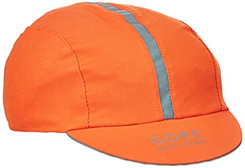 GORE BIKE WEAR Fahrrad-Kappe, Super Leicht, Atmungsaktiv, Gore Selected Fabrics, EQUIPE Light Cap, Größe One, Orange, HEQUIP