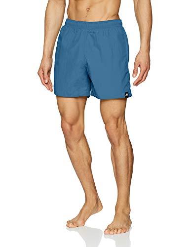 adidas Herren Solid Short Length Badehose, Trace Royal, M - Solid Herren Badeanzug