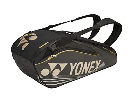 Yonex 6R Pro Series Portaracchette Tennis Nero