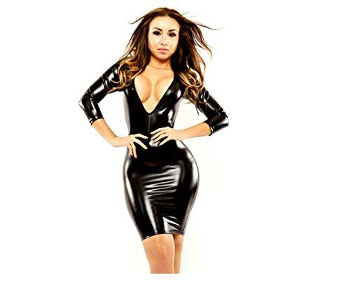SWYLOSexy Dessous Sexy Kleid Clubkleidung Body Unterwäsche Thongs Set Overall Frau Ausgehabend Tragen , L (Zurück Strumpfhose Thong)