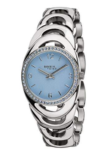 Orologio breil per donna saturn con bracciale in acciaio, movimento solo tempo - 2h quarzo
