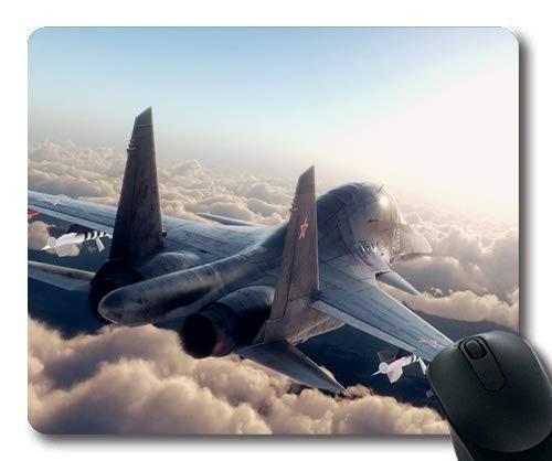 Yanteng Aviones de Combate, Mouse Pad, Street Fighter ps4, Mouse Pad con Bordes cosidos