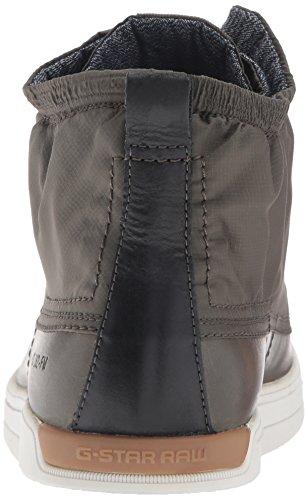G-STAR RAW Arc, Sneakers Hautes Homme Vert (combat 723)