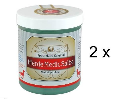 Apothekers Original Perde Medic Salbe 2er Set (2 x 600 ml) Sparset. Für Perde entwickelt - für Menschen entdeckt. Entspannt Belastungsbeschwerden bei Rücken- und Muskelverspannungen.