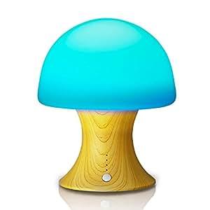 Aole Star bambino/bambini fungo––Luce notturna, con camera da letto, camera dei bambini, corridoio, campeggio, batteria integrata per l' outdoor–Inserto per mobile