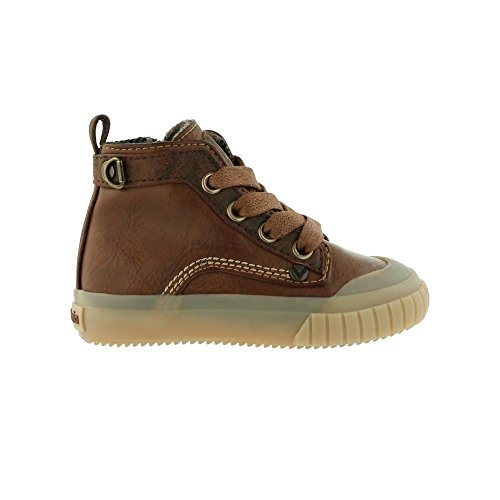 Zapatillas-Victoria-065105-Bota-Cremallera-Pu-Cuero-unisex-nios