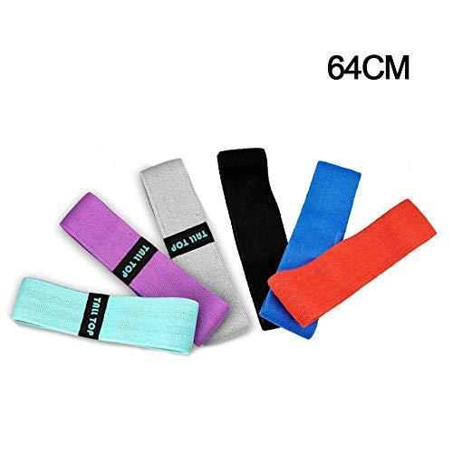 Yoga Gurtband Hüftband Yoga Pull Gürtel Hüfttraining Übung Widerstand Band Elastischer Zugring Hohe Festigkeit Fitnessgeräte