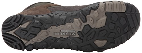 Merrell - Telluride Mid Wtpf, Sneaker alte Uomo Grigio (Grau (Granite))