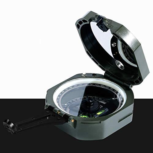 Xxw Bussola Bussola geologica di Alta precisione Bussola misuratore di Pendenza Non Elettronica Navigazione escursionistica antimagnetica Luminosa for Esterni Ago Magnetico
