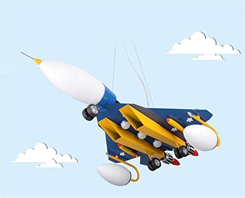 MEHE HOME- Kreative Flugzeug Schlafzimmer junge kind Raum Pendelleuchte - 2