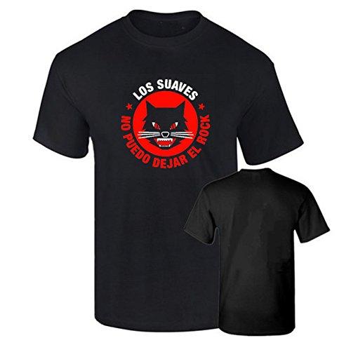 Camiseta LOS Suaves Rock español Algodon Calidad 190grs (XL)