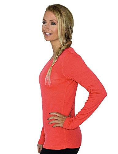 woolx Damen Remi T-Shirt Spiced Coral