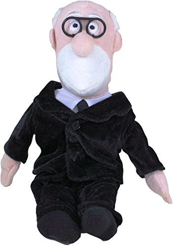 "Unemployed Philosophers Guild Sigmund Freud Little Thinker - 11"" Plush Doll for Kids and Adults"
