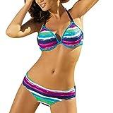 SMENGG Bikini 2 Pezzi Bikini Stampato con Fasciatura da Bagno Abbigliamento Femminile Costume da Bagno Beachwear Costumi da Bagno