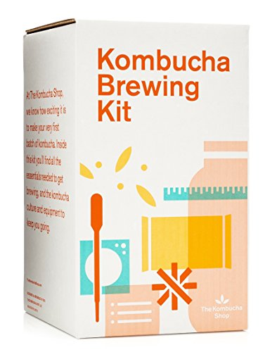 Kombucha Brewing Kit with Organic Kombucha Scoby....