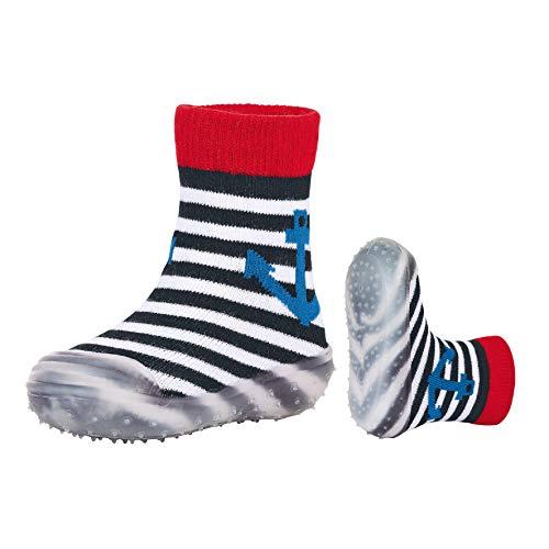 Sterntaler Jungen Adventure-Socks Anker Aqua Schuhe, Blau (Marine 300), 26 EU