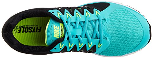Nike Zoom Vomero 9, Chaussures de running femme Multicolore (Hyper Jade/Volt Black)